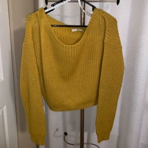 Missguided mustard sweater
